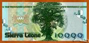 10 000 Leones – revers