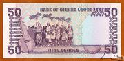 50 Leones – revers