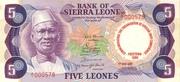 5 Leones – avers