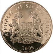 1 dollar (Prince Rainier III) – avers