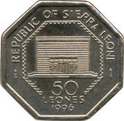 50 Leones – avers