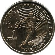 1 Dollar (Football World Cup 2006) – revers