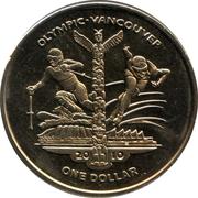 1 Dollar (Vancouver Olympics) – revers