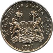 1 dollar (Éléphant) – avers