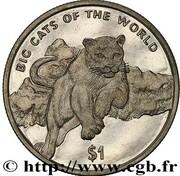 1 Dollar (cougar) – revers
