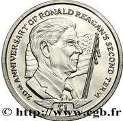 1 Dollar (40th US president Ronald Reagan) – avers