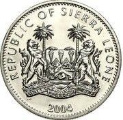 1 Dollar (40th US president Ronald Reagan) – revers