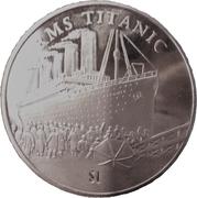 1 Dollar (RMS Titanic) – revers