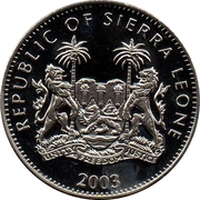 1 Dollar (Golden Jubilee) – avers
