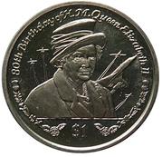 1 Dollar (Golden Jubilee Flypast) – revers