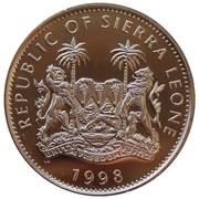 1 Dollar (Diana-The People's Princess) – avers