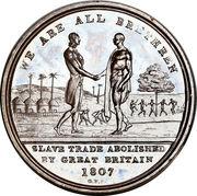 1 penny - Abolition de l'esclavage – avers