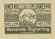 20 Zwanzig Heller – avers