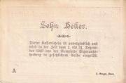 10 Heller (Sigmundherberg) – revers
