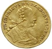 1 Ducat - Friedrich II – avers