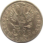 18 kreuzer - Friedrich II – revers
