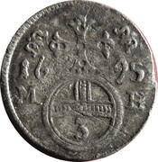 3 pfennig Leopold I (Brieg) – revers