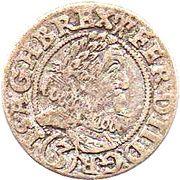 3 kreuzer Ferdinand II – avers
