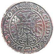 3 kreuzer Ferdinand II – revers