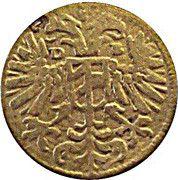 3 pfennig Ferdinand II – avers