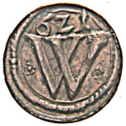 1 Heller - Ferdinand II (Breslau) – avers