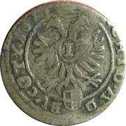 1 kreuzer Ferdinand II (Neisse) – revers