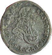 1 kreuzer landmünz Leopold I (Oppeln) – avers