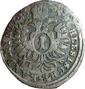 1 kreuzer landmünz Leopold I (Oppeln) – revers