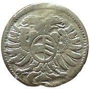 3 pfennig Leopold I (Breslau) – avers
