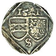 1 Pfennig - Ferdinand I – avers