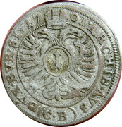 1 kreuzer Leopold I (Brieg) – revers