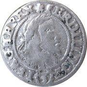 3 kreuzer Ferdinand III – avers