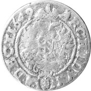 3 kreuzer Ferdinand III – revers