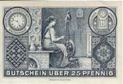 25 Pfennig (Stadt Freiburg) – revers