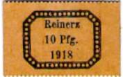 10 Pfennig - Reinerz – avers