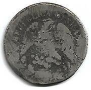 1 Peso (Buelna / Carrasco - Countermarked) – avers
