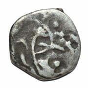 ½ Drachm - Chach of Alor dynasty in Sindh and Multan – avers