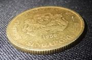5 cents (blason haut) -  avers