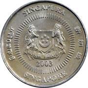 10 cents (blason bas) – avers