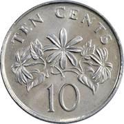 10 cents (blason bas) – revers