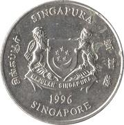 20 cents (blason bas) -  avers