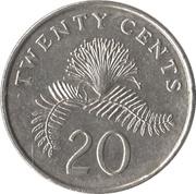 20 cents (blason bas) -  revers