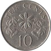 10 cents (blason haut) – revers