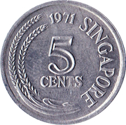 5 cents (FAO) – avers