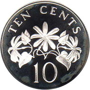 10 Cents (Silver Issue) – revers