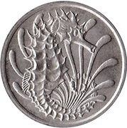 10 cents (hippocampe) -  revers