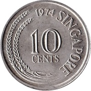 10 cents (hippocampe) -  avers