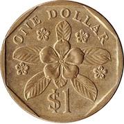 1 dollar (blason haut) -  revers