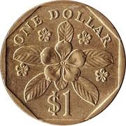 1 dollar (blason bas) -  revers
