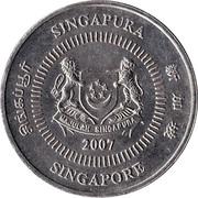 50 cents (blason bas) -  avers